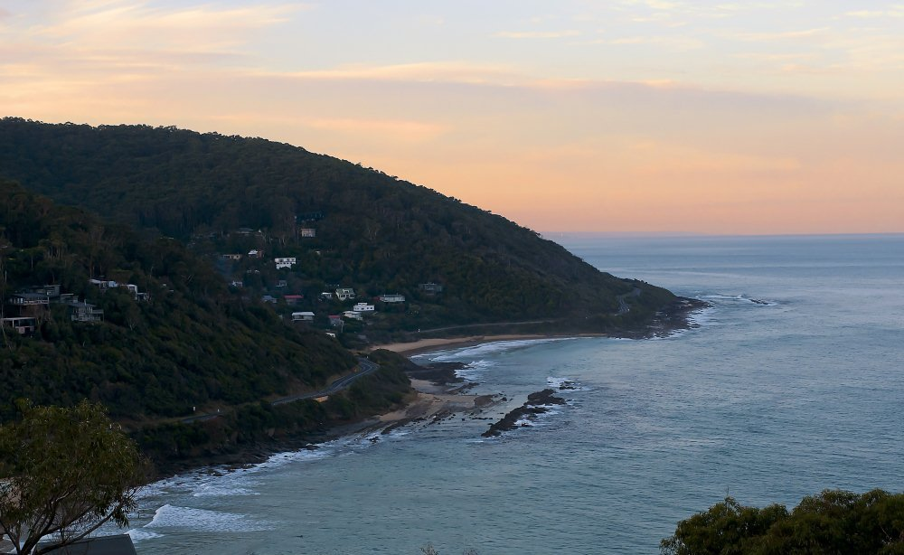 Sunset at Wye River