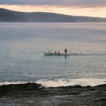 Rowing at Lorne